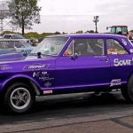 old school chevys drag racing