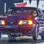turbo sbf fox body mustang drag racing