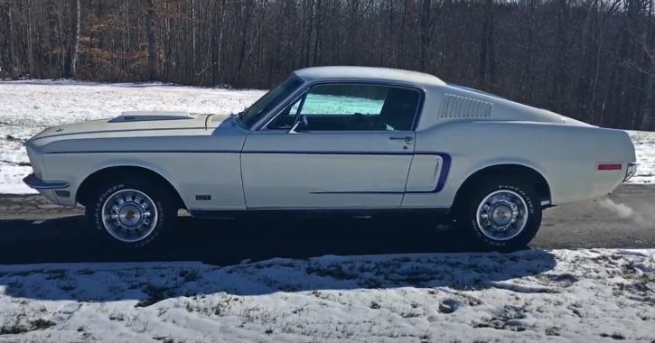 1968 ford mustang gt 390 4-speed
