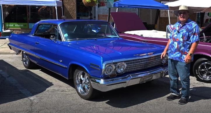 custom built 1963 chevy impala 327 4-speed