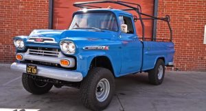 1959 chevy apache fleetside truck build