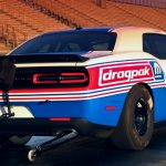 2020 drag pak dodge challenger 1/4 mile racing