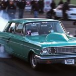 all motor ford fairlane drag racing