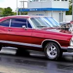1967 ford galaxie drag racing