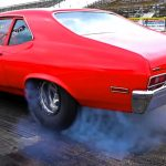 7 second street legal chevy nova drag racing