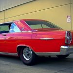 rangoon red 1965 ford galaxie ltd r-code