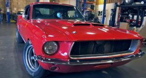 1967 ford mustang gt 347 stroker 4-speed
