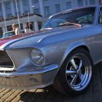 custom built ford mustang fastback