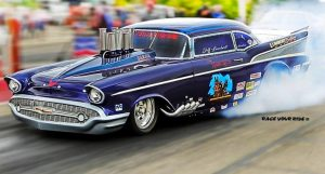 the river rats '57 chevy drag racing
