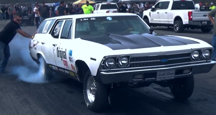 chevy chevelle greenbrier drag racing