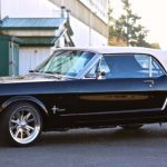 custom 1965 ford mustang convertible