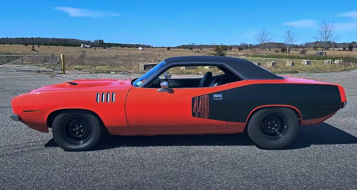 1971 plymouth cuda owned by jesse james