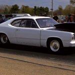 1970 plymouth duster drag racing