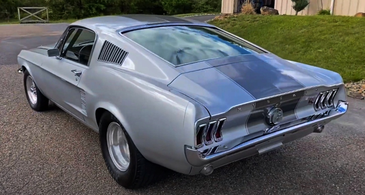 1967 ford mustang pro street build