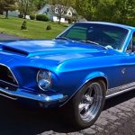 1968 shelby gt500kr mustang