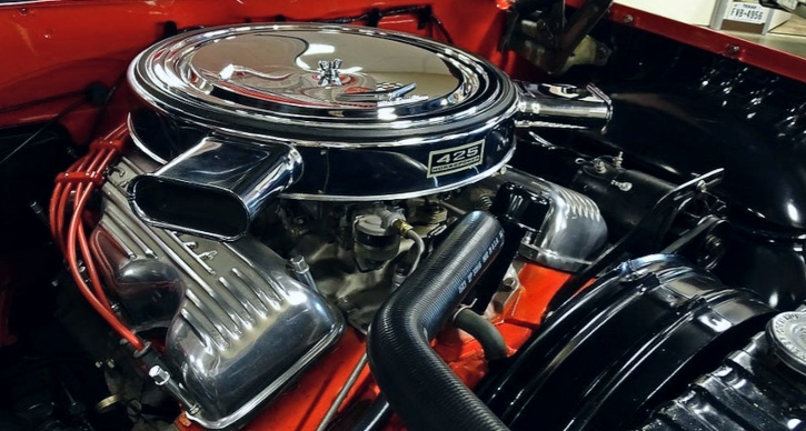 bubble top chevy impala ss 409 4-speed
