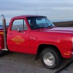 dodge lil red express truck build