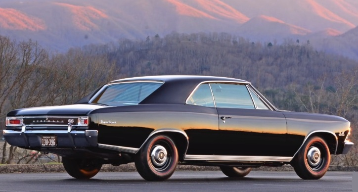 1966 chevy chevelle ss 396 4-speed