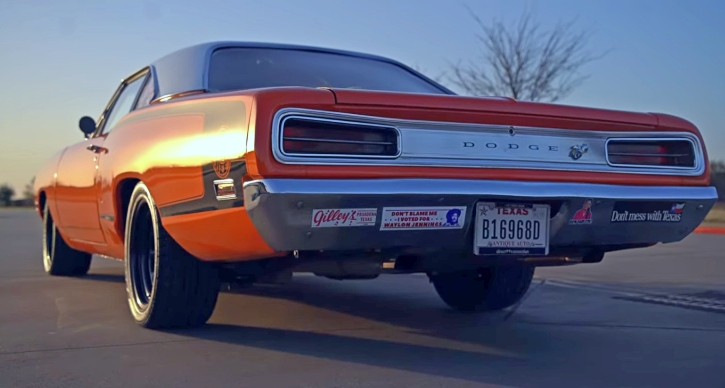 1970 dodge super bee 1 of 1 color combination