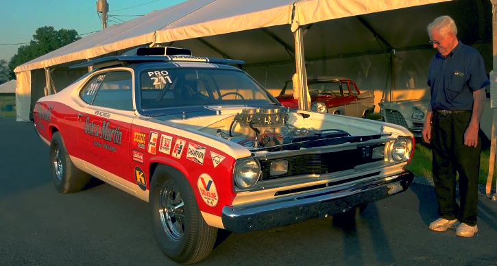 herb mccandless ss/afx 1970 plymouth duster replica