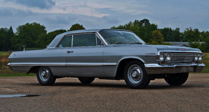 z11 equipped 1963 chevrolet impala 409