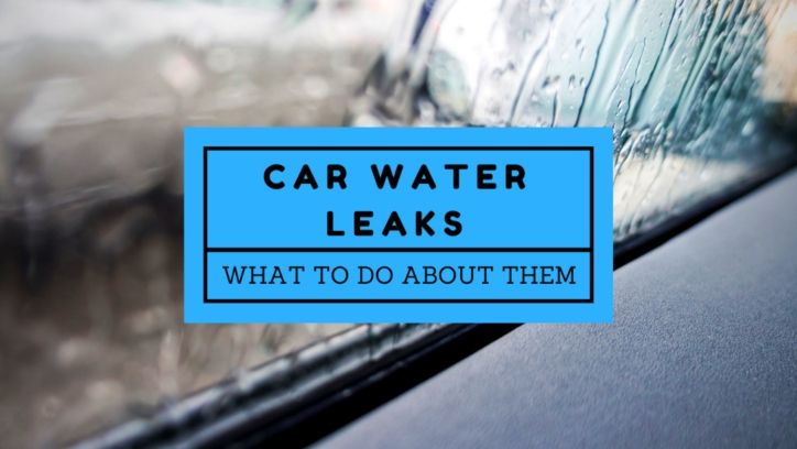 how to tackle car water leaks