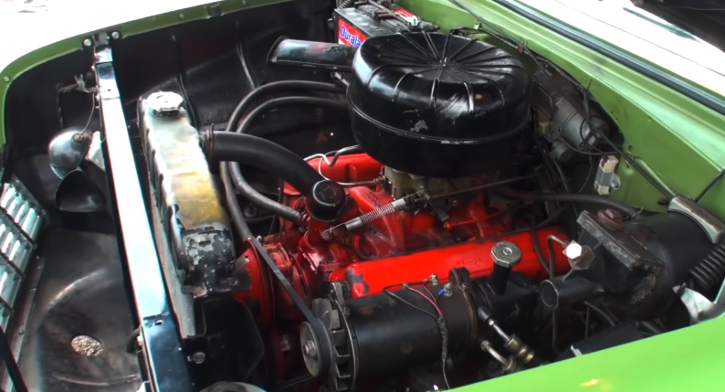 highly optioned 1956 chevy bel air 265 v8