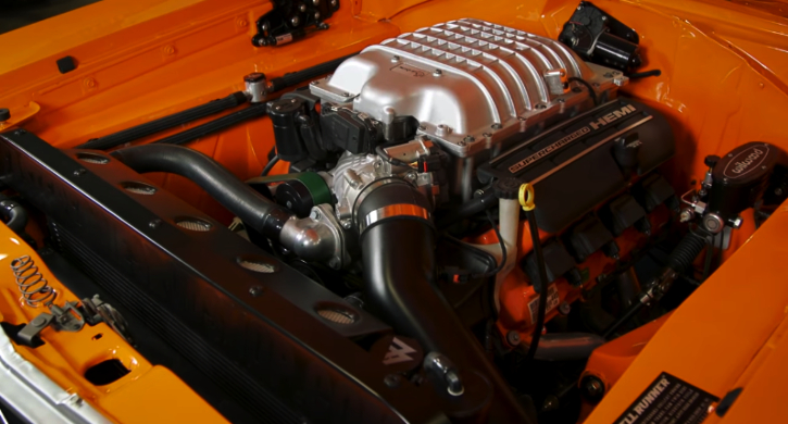 plymouth road runner hellcrate engine