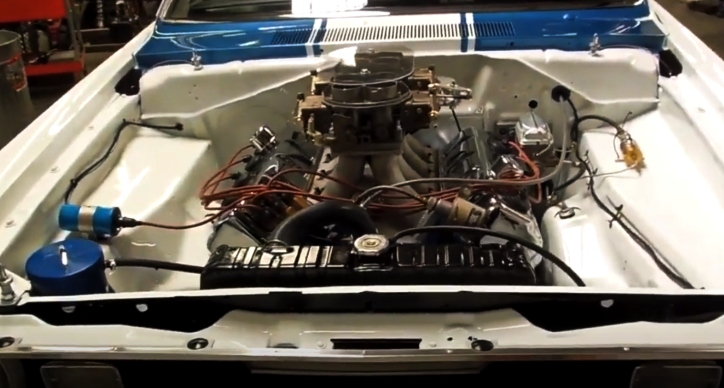 1970 plymouth duster ss/afx engine