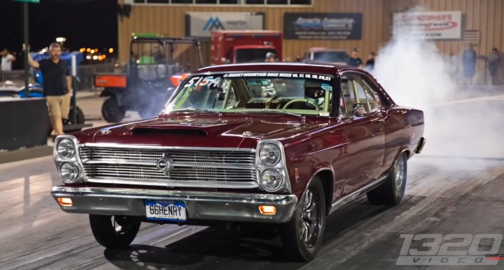 8 second stick shift ford fairlane drag racing