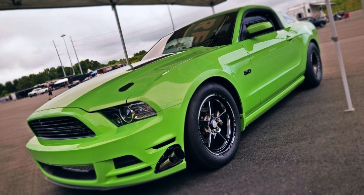 7 second coyote ford mustang street car