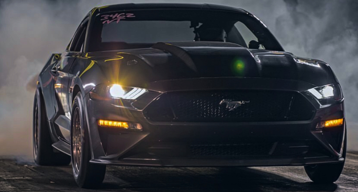fastest n/a s550 mustang record