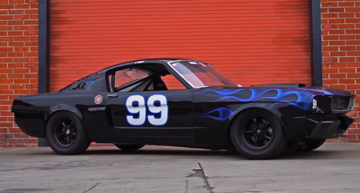 historic ford mustang 99 race car