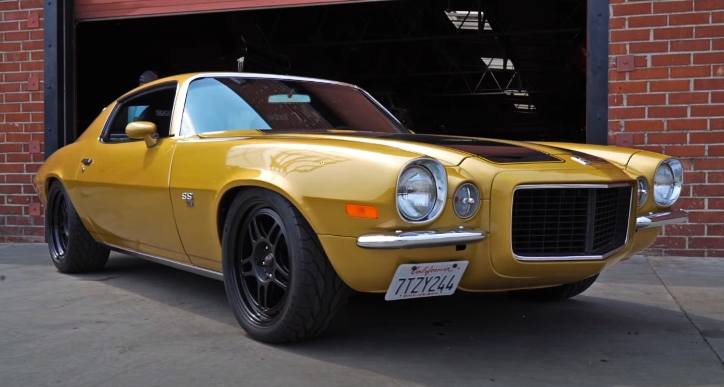 1970 chevy camaro ss rs build
