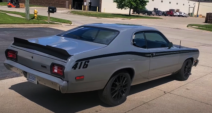 plymouth duster 416 stroker build