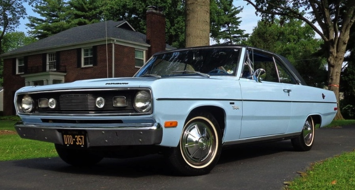 1972 plymouth valiant scamp in top condition