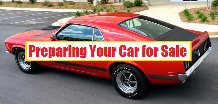 tips on preparing your car for sale