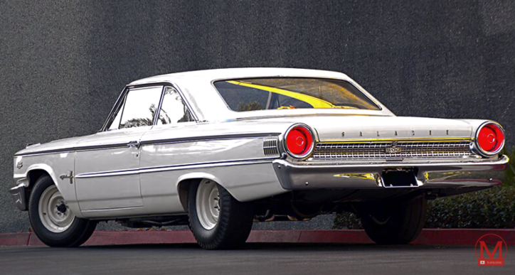 1960's ford factory built race cars
