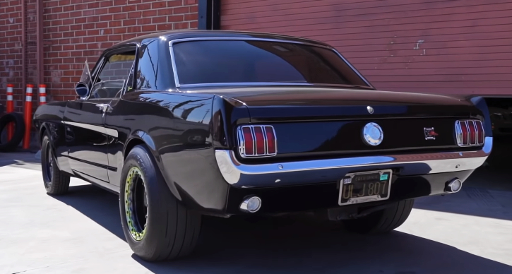 1966 mustang coupe street strip build
