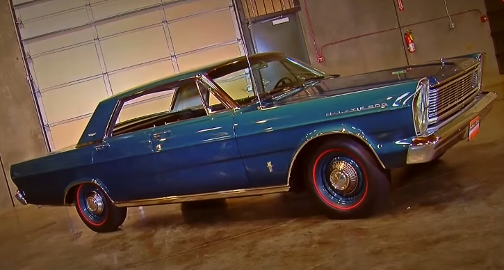 4 door 1965 ford galaxie with factory installed 427 v8