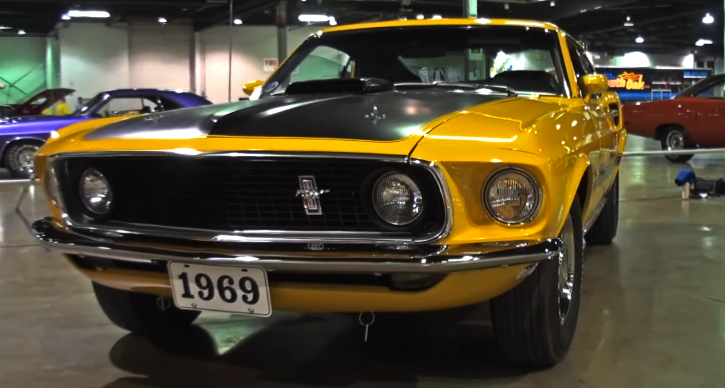 special 1969 ford mustang mach 1